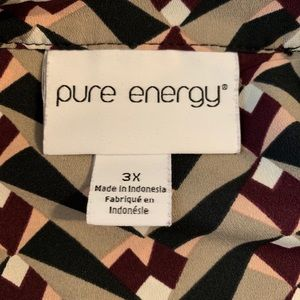 Pure Energy Tops - Pretty Pure Energy Lightweight Women's Blouse❣️